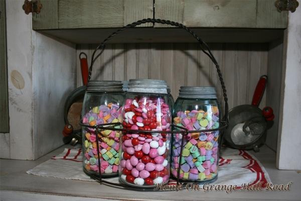 jars in holder